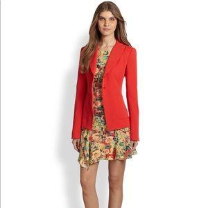 NWT Nanette Lepore Romance Blazer, Poppy Red